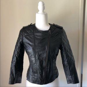 ASOS genuine leather jacket. US sz 6